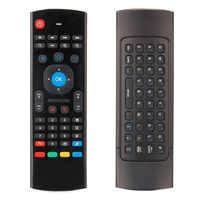 Nuovo 2.4G Tastiera di Controllo A Distanza Senza Fili Del Mouse con Ricevitore USB Per XBMC Per Android TV Box Smart TV di Promozione
