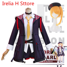 TouHou Project Flandre Scarlet cosplay costume coat shirt skirt socks hwlloween