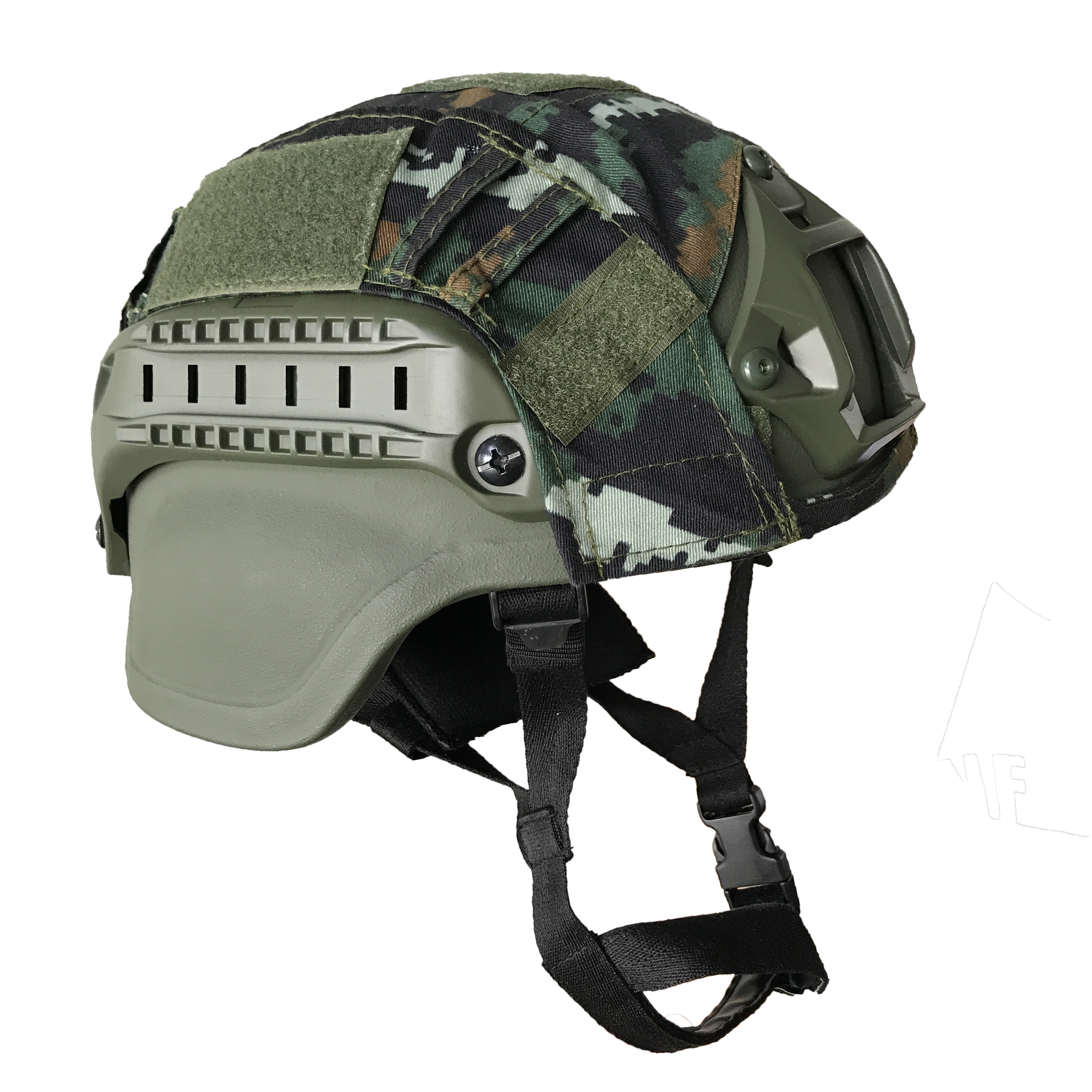 OD MICH 2000 Bulletproof Helmet Level NIJ IIIA Head Protection Aramid Military Ballistic Helmet
