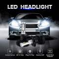 Oslamp H4 H11 H13 9005/HB3 9006/HB4 H7 Headlight for Car Hi-Lo Beam/Single Beam CREE CSP Chips 50W/pair Auto LED Headlight Bulbs