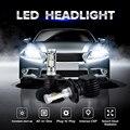 Oslamp H4 H13 H11 9005/HB3 9006/HB4 H7 для Автомобиля привет-Ло Луч/Один Луч CREE CSP Чипов 50 W/pair Авто СВЕТОДИОДНЫЕ Фары лампы
