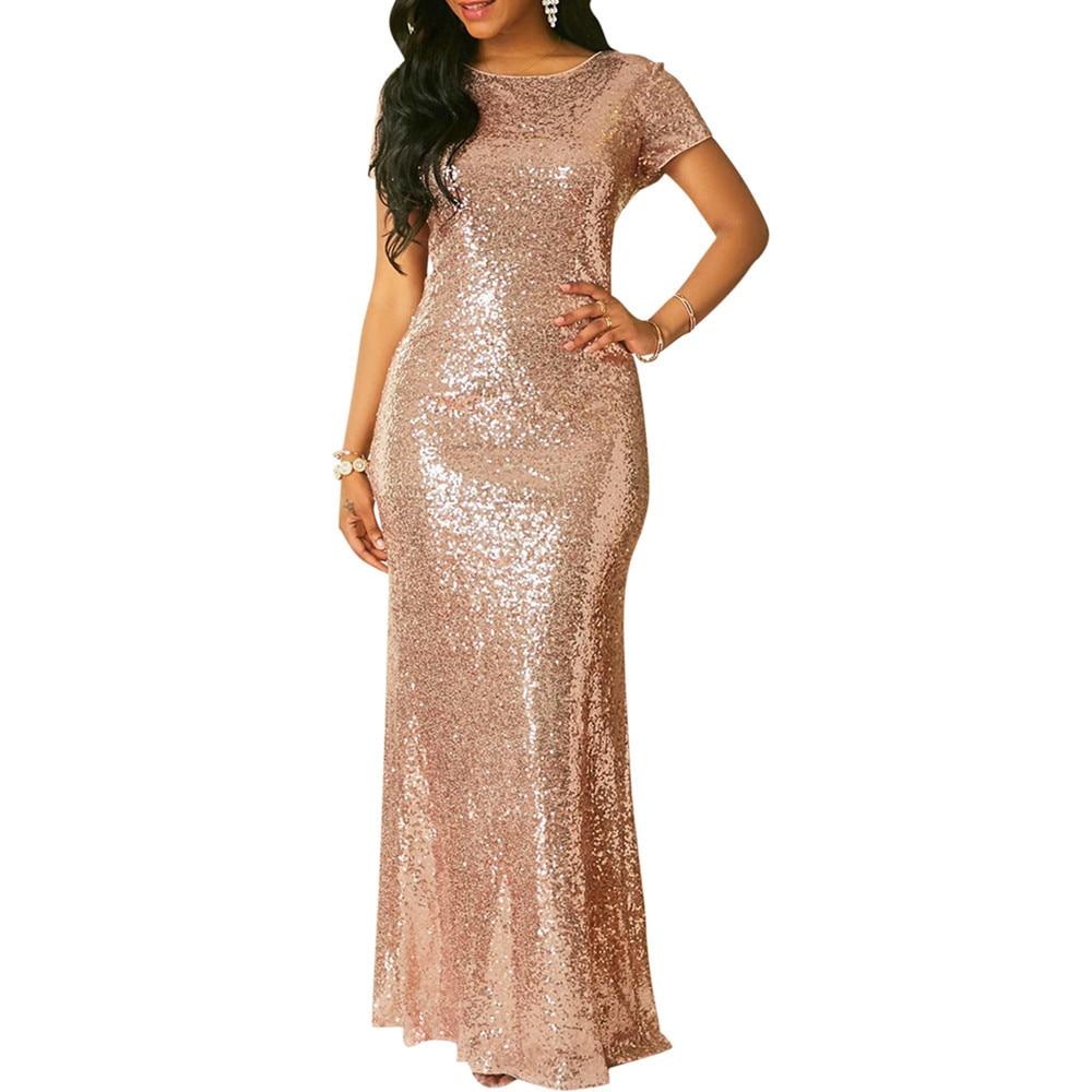 Rose Gold Short Formal Dresses
