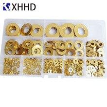 Joint en laiton pour tôle plate, laiton, cuivre, Bronze, joint rond, joint en laiton M2, 5, M3, M4, M5, M6, M8, M10, M12, M14