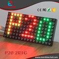 Quanlity elevado Tráfego Personalizar 2R1G P20 Módulo de LED com Chip de Epistar grande visão 8000mcd Brilho 3 anos de Garantia 8000mcd