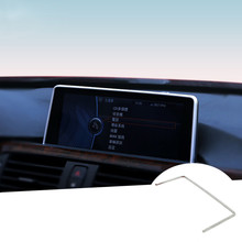 For BMW 3 Series F30 320i 328i Inner Console GPS Navigation Cover Trim 2013-2015 1pcs