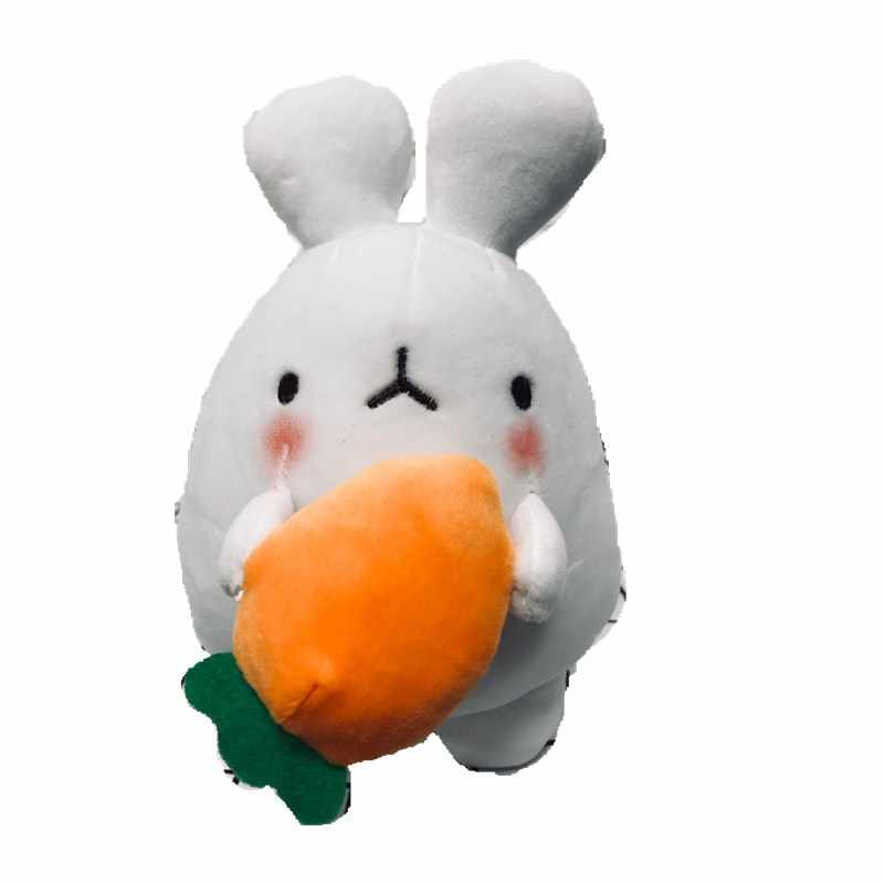 Cartoon Lovely White Plush Rabbit Toys with Carrot Stuffed Rabbit Bunny Soft Toys for Easter Gifts Home Decoratoin