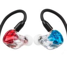 AK nowy MaGaosi K5 5BA jednostka napędowa w uchu słuchawka 5 zbalansowana armatura monitorowanie HIFI słuchawki z wtyczką z wymiennym kablem MMCX