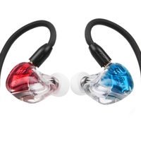 New MaGaosi K5 5BA Drive Unit In Ear Earphone 5 Balanced Armature HIFI Monitoring Earphone With Replaceable Cable MMCX