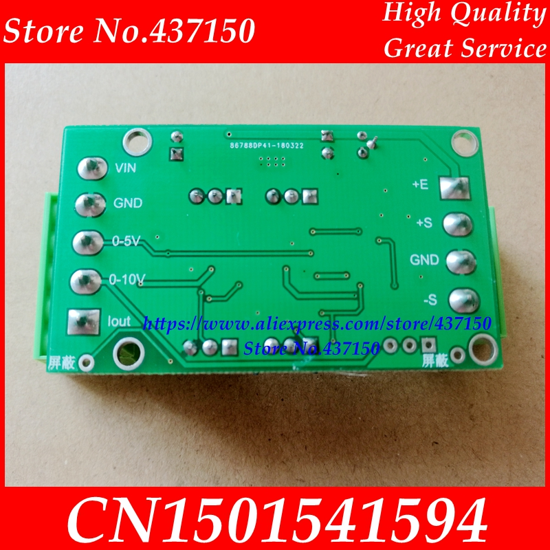Image 3 - Weighing sensor transmitter amplifier module 4 20MA 0 5V current voltage load cell  amplifier Signal Amplifier Broad Transducer-in Sensors from Electronic Components & Supplies