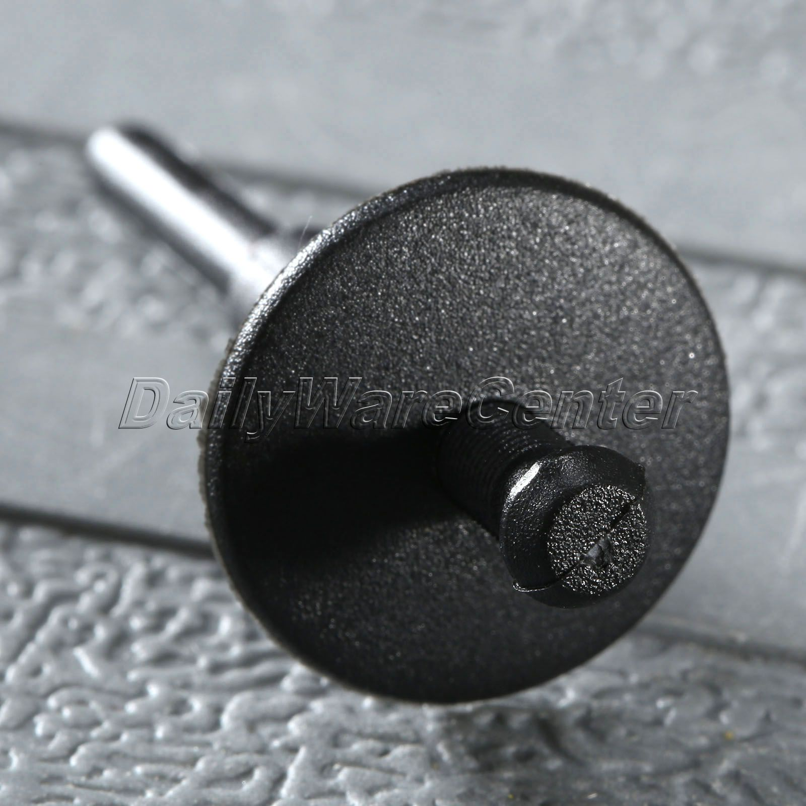 50Pcs Car Bumper Fender 6 mm Vrimë Mbërthecash plastike të zeza - Aksesorë të brendshëm të makinave - Foto 6