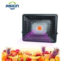 LED Grow Flood Light AC110V 220V IP65 Waterproof High Power Full Spectrum Plant Grow Light For Outdoor Plant Growing Flowering