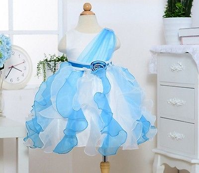 2015 New 2-7Y Girl Party Wedding Evening Sleeveles Princess Dresses Kid Pageant Frocks First Communion Bridesmaid Ball Gown Tutu