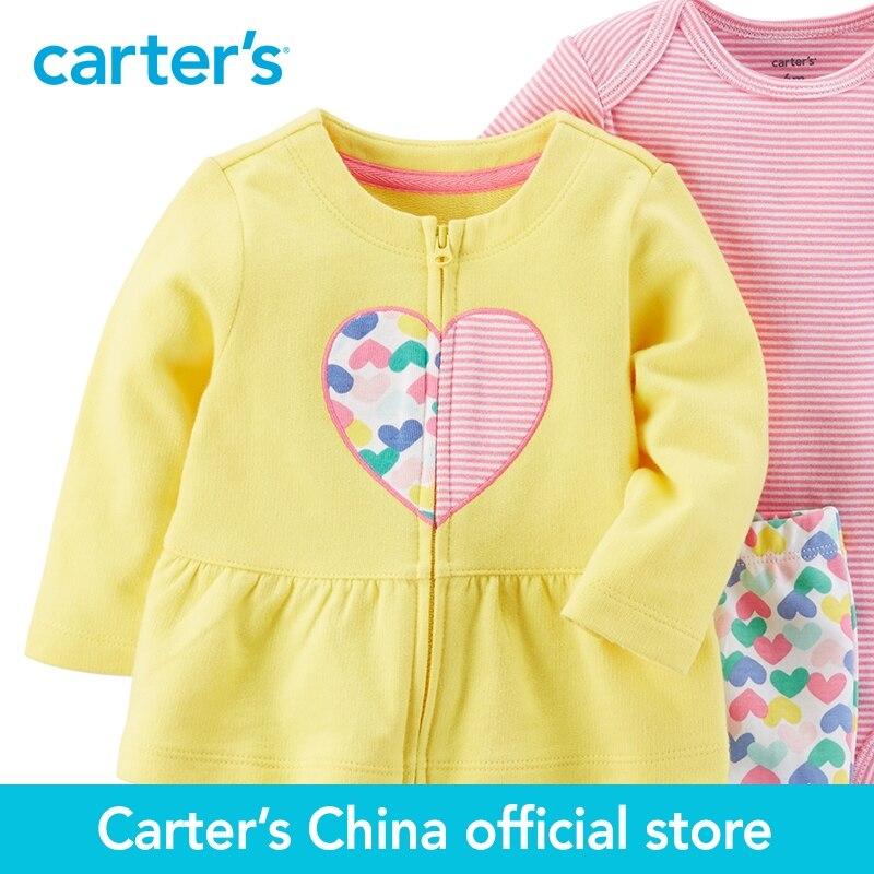 5cd53c178 Carter s 3 Piece baby children kids clothing Girl Spring Heart ...