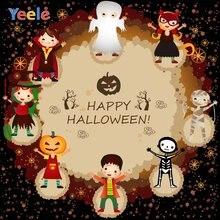 Yeele счастливый Хэллоуин Вечеринка Тыква трюк или лечения фотографии