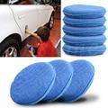 Kris 1 pcs Car Waxing Polish Foam Sponge Applicator Cleaning Detailing Pads Microfiber New