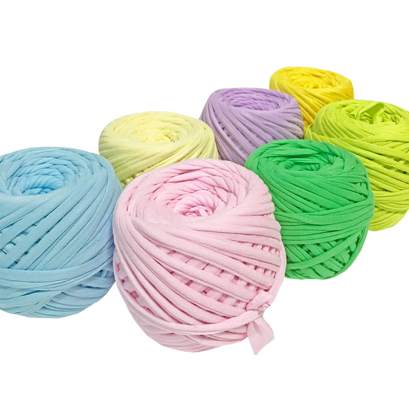 Cloth Line Yarn Crocheted Bag Chunky Knitting Yarn Cushion Carpet Storage Basket Is Hand-woven Diy Thick Yarn Accessory YH001
