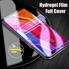 7D Clear Full Soft Hydrogel Film For Huawei P30 P20 Pro Mate 20 Lite Screen Protector Honor 10 9 8X Max Not Glass
