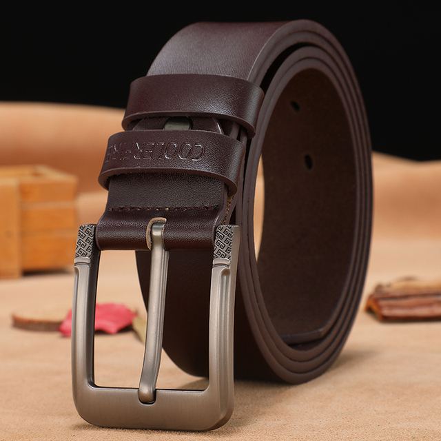 High Quality Genuine Leather Belt Luxury Strap 1