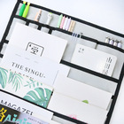 Multifunctional Desk Storage Box Organizer for the Office Student Desk Hanging Bag Makeup Cosmetic Storage School Supplies