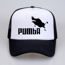 Trucker Caps Lion King Funny Hat Cap Men Pumba Hakuna Matata Baseball Cool Summer Mesh Net for