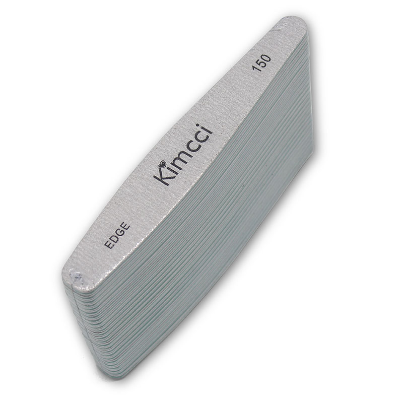 Kimcci Top quality 25pcs/Lot Nail Files Manicure Tools EDGE 150 Sanding Blocks Slim Buffer Nail Art Salon Supplies
