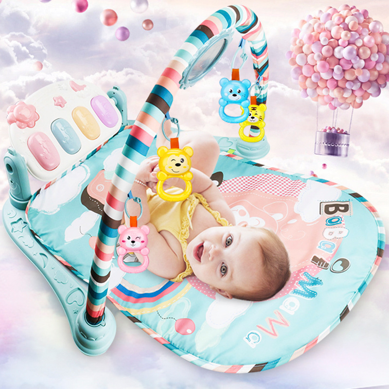 Baby Play Mat Baby GymToys 0-12 Months Soft Lighting Rattles Musical Toys For Babies Brinquedos Para Bebe Oyuncak цена 2017
