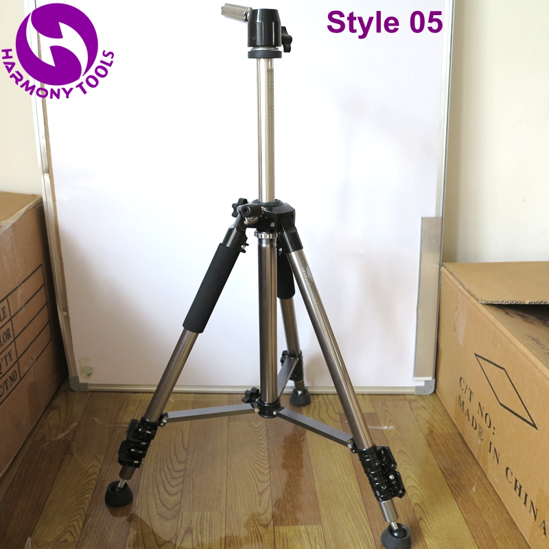 Just Harmony 1 Piece Lf-6307a Stable Aluminium Alloy Tripod Floor Holder For Training Doll Head Mannequin Manikin Canvas Block Head Hair Extensions & Wigs