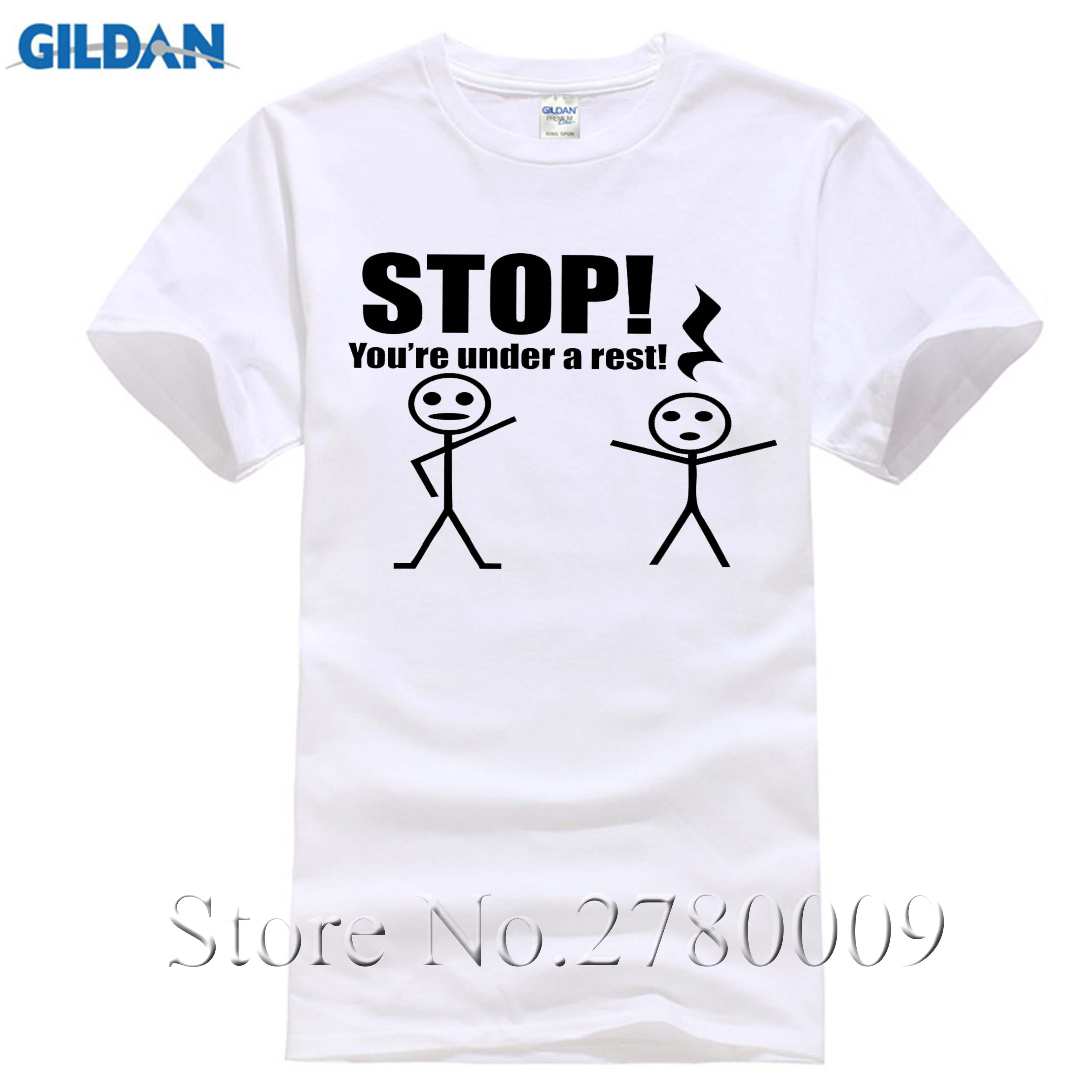 116733ecf5 Stop You're Under A Rest Funny T Shirt Cute Music Piano Teacher Gift Tee  Funny Clothing Casual Short Sleeve T shirts-in T-Shirts from Men's Clothing  on ...