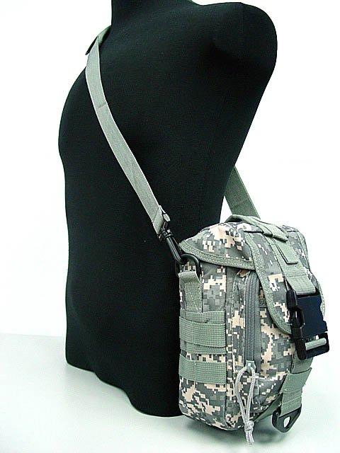 Molle Shoulder Bag Tool Mag Drop Pouch Digital ACU Camo OD BK Camo woodland CB Digital camo woodland