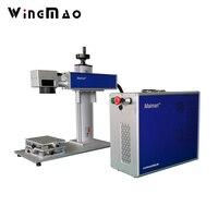 Yongmao繊維レーザー10ワット20ワットファイバーレーザーメモリカードマーキング機価格から中国サプライヤーでceと貿