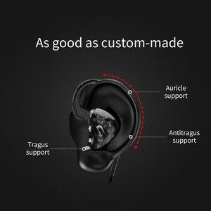 Image 5 - Yeni TRN X6 6BA sürücü birimi Kulak Kulaklık 6 Dengeli Armatür HIFI Monitör Sahne Spor Koşu Çözünürlük IEM Ayrılabilir 2Pin