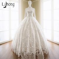 White Wedding Dresses Long Appliques Backless Bridal Formal Dress Vestido De Noiva Uniques Elegant Women Wedding