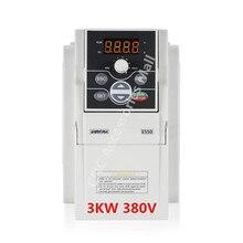 E550 series 3HP 3KW VFD AC380V 0-1000HZ Frequency Inverter E550-4T0030 цена