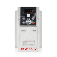 E550 series 3HP 3KW VFD AC380V 0 1000HZ Frequency Inverter E550 4T0030