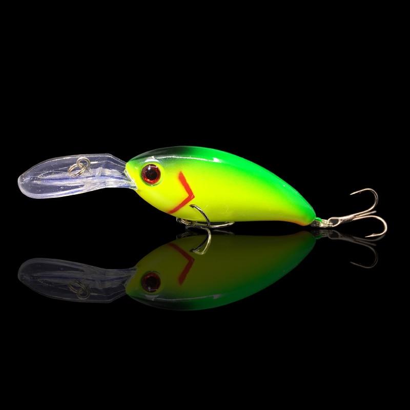 1Pcs 10cm/14g  hard bait fishing Wobbler Artificial Crank Bait Bass trout Lure pike trolling pesca minnow tackle