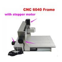 Best cnc machining aluminum parts mini 6040 CNC router lathe assembled motor with limit switch