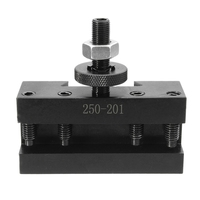 10 15Inch Bxa Quick Change Cnc Lathe Tool Post #1 Turning Facing Holder #250 201 Holder For Lathes Tools
