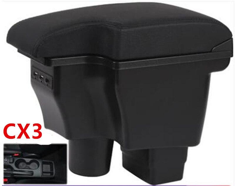 Para mazda2 skyactiv versão cx3 CX-3 caixa apoio de braço