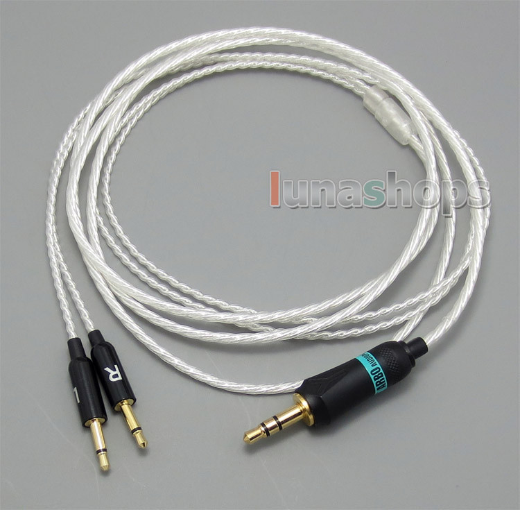3.5mm 5N OCC + Silver Plated Copper Cable For B&W Bowers & Wilkins P3 headphone LN004813 стоимость