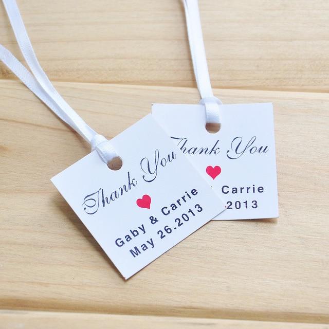 Favor Tag Printable Text Editable Thank You Wedding Tags Set Of 100