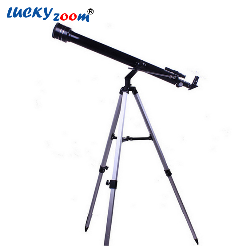 Luckyzoom 675x Zooming Outdoor Monocular Space Astronomical Telescope With Portable Tripod Spotting Scope 900/60m Telescopio bosma 80 900 astronomical telescope monocular equatorial refractive fully coated telescope with portable tripod w2358b