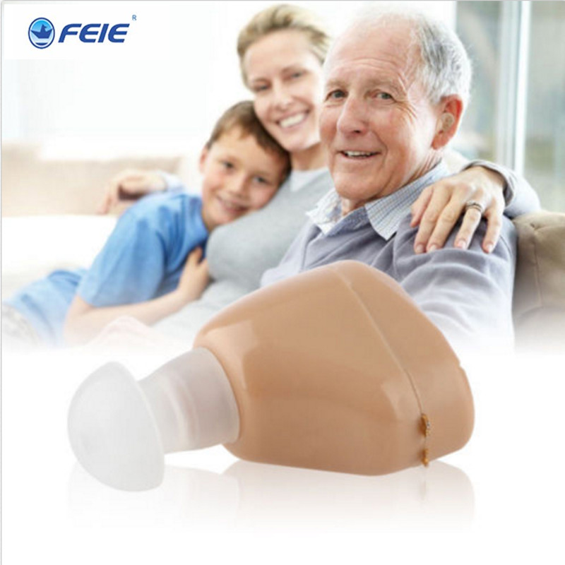 Clinic Medical Hearing Aid with USB Charger EU/USA Plug S-219 Invisible Ear Rechargeable Hearing Aids at Low Price Drop shipping
