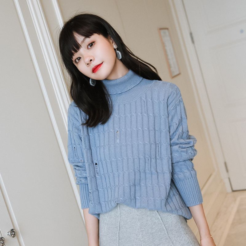 9a49274fb adohon 2018 womens winter Cashmere sweaters and auntmun women knitted  Pullovers Turtleneck High Quality Warm Female Solid ~ Hot Sale June 2019