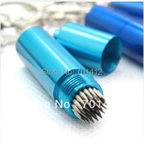 1 шт. синий цветной брелок бильярдный Бассейн cue tip piks tip tools