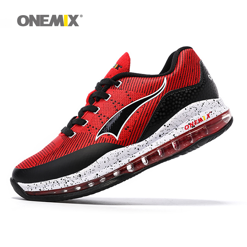 Onemix New Basketball Shoes For Men Air Breathable Sneakers Outdoor Sports Shoes 2017 Sports Shoes For Men  Free Shipping 1130 peak sport men outdoor bas basketball shoes medium cut breathable comfortable revolve tech sneakers athletic training boots