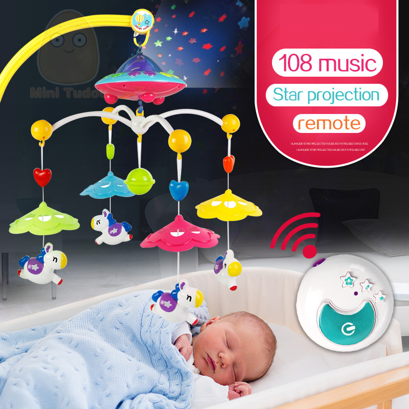 MiniTudou-Baby-Toys-0-12-Months-Crib-Mobile-Musical-Bed-Bell-With-Animal-Rattles-Projection-Cartoon-Early-Learning-Kids-Toy-2