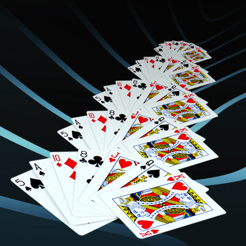 playing cards copper cards shrinking poker become small stage magic tricks magic props