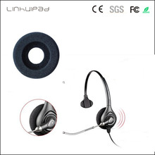 hot deal buy soft donut foam ear pads replacement ear cushions with 57mm diameter for plantronics 12pcs/lot free shipping