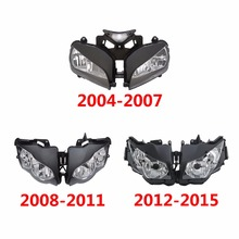 Motocicleta Frente Farol Assembléia Luz Para Honda CBR CBR1000RR 1000RR 2004 2007 2008 2011 2012 2015