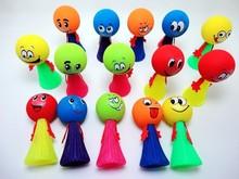 Gorąca sprzedaż 1 sztuk funny Mega Fly Jump dzieci Prank dziwny nowy podskakujący Elf zabawki edukacyjne dla dzieci niska cena tanie tanio GWOLVES Puppets Unisex 8 cm 7x3cm Pluszowe serii Jumping doll 3 lat Wyroby gotowe CHINA Zapas rzeczy 1 60 Fantasy i sci-fi